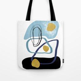 Modern minimal forms 10 Tote Bag