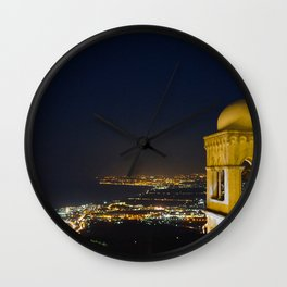Night over Teromina Wall Clock