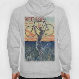 Vintage French Bicycle Poster 1898 Hoody