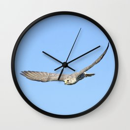 The moment, not the bird, divine Wall Clock
