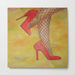 Goody Two Shoes Metal Print