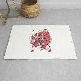 Krampus (Blood Red) Rug