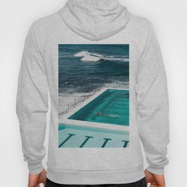 Bondi Icebergs Club I art print Hoody