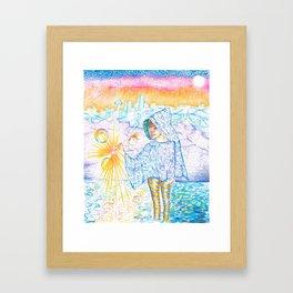 Seeker by Andrew Kaminski Framed Art Print