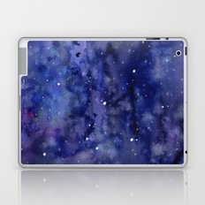 Night Sky Galaxy Nebula Stars Watercolor Space Texture Laptop & iPad Skin