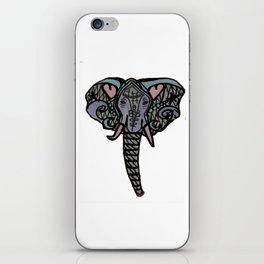 Love Elephant iPhone Skin