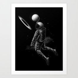 Saturn Dunk Art Print