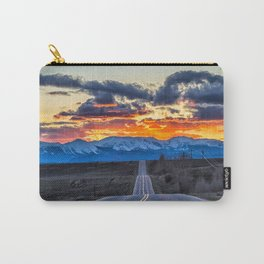 Sunset over walden Carry-All Pouch