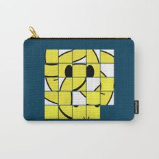 Acid Smiley Shuffle Puzzle Carry-All Pouch