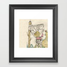 Sinmap Framed Art Print