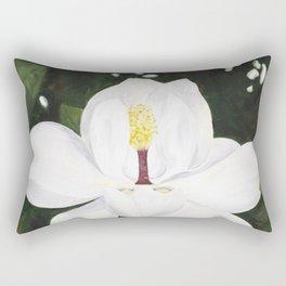 Magnolia I Rectangular Pillow