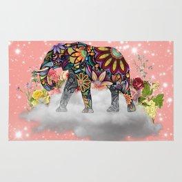 MANDALA ELEPHANT Rug