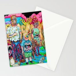 King of the Mutants Stationery Cards