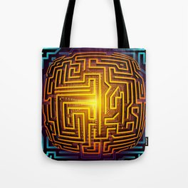 The Labyrinth Tote Bag