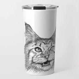 Naughty Cat Travel Mug