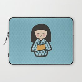 Geisha Dress Code (blue) Laptop Sleeve