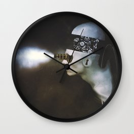 Mind replays what the heart can't delete. Wall Clock