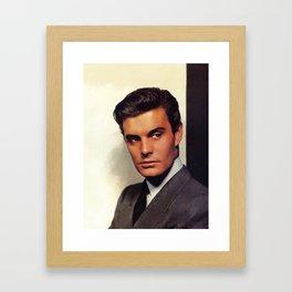 Louis Jourdan, Actor Framed Art Print
