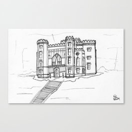 Baton Rouge Louisiana Old State Capitol Canvas Print