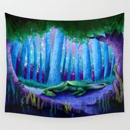 The Sleeping Dragon Wall Tapestry