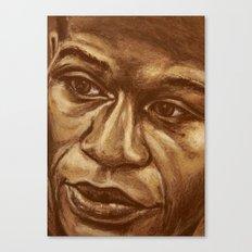 the money Canvas Print