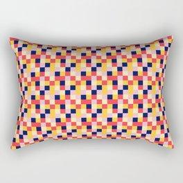Pixel Tiles #1 Rectangular Pillow