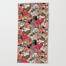 Because English Bulldog Beach Towel