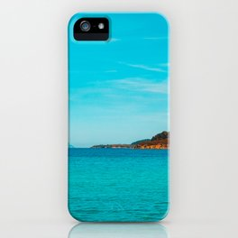 Some mountains in the sea iPhone Case