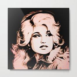 Dolly Parton | Pop Art Metal Print