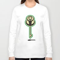 monkey Long Sleeve T-shirts featuring monKEY by creaziz
