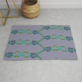 Succulent Chains Rug