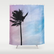 Single Palm Shower Curtain