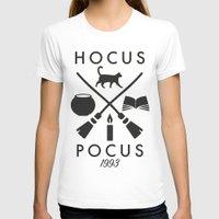 hocus pocus T-shirts featuring Hipster Hocus Pocus by Designed4dis