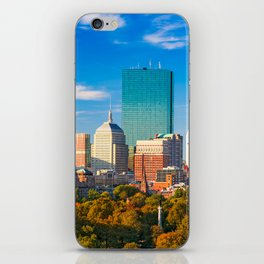 Boston City Skyline iPhone Skin