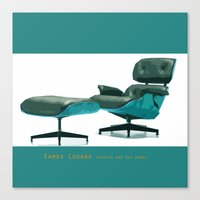 eames Canvas Prints featuring Eames by Retale