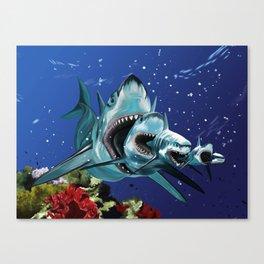Sharkioska Canvas Print