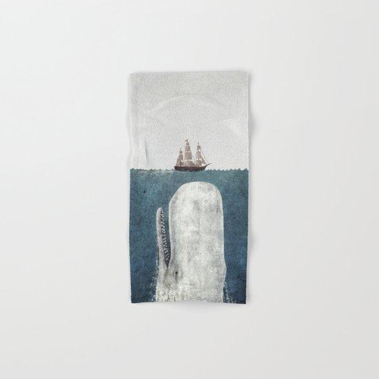 The Whale - vintage  Hand & Bath Towel