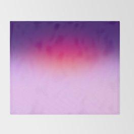 Purple Sunset Throw Blanket