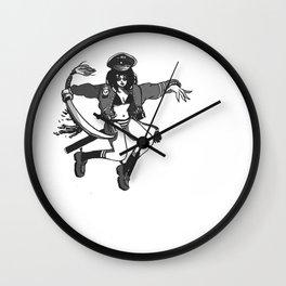 Annie Chan, genki desu ka Wall Clock