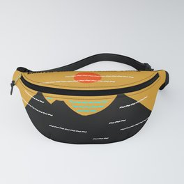Crater Lake National Park Fanny Pack