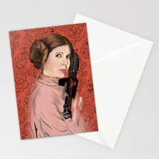 Princess Leia from StarWars Stationery Cards