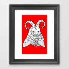 Chinese New Year of the Goatman Framed Art Print