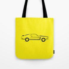 Mustang Boss Tote Bag