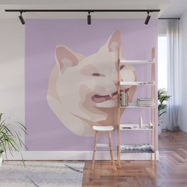 A Grimace Wall Mural