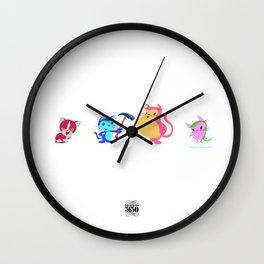 FERAL MUCHI Wall Clock