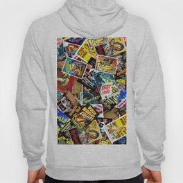50s Movie Poster Collage #14 Hoody