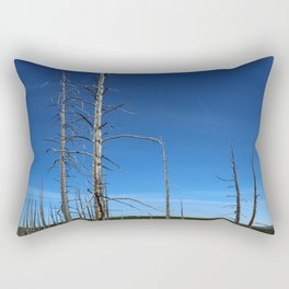 Lodgepole Pines In Geyser Basin Rectangular Pillow