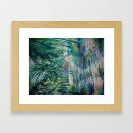 Mi bohio Framed Art Print