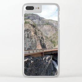 Bear Creek Falls in the Uncompahgre Gorge Clear iPhone Case