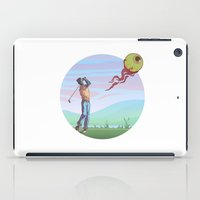 golf iPad Cases featuring Zombie golf by Valentin Cottereau